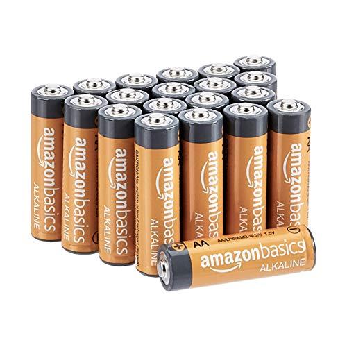 AmazonBasics - Pile alcaline AA Performance, confezione da 20