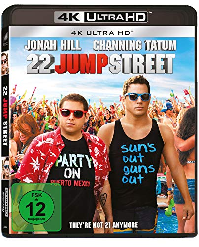 22 Jump Street (4K UHD) [Blu-ray]