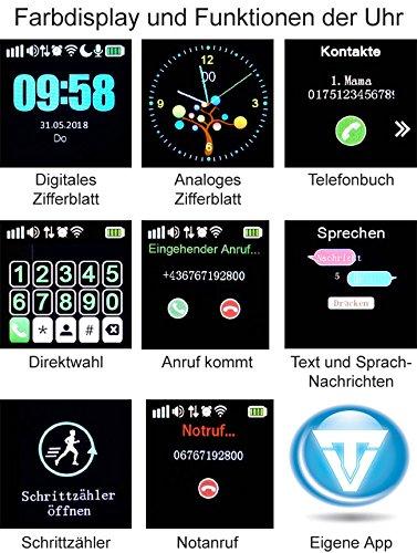 VIDIMENSIO GPS Telefon Uhr Großer Delfin Wifi WASSERDICHT Abbildung 3