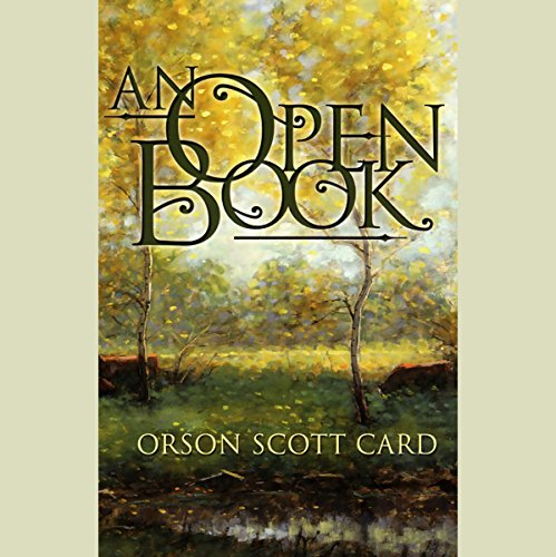 An Open Book audiobook cover art