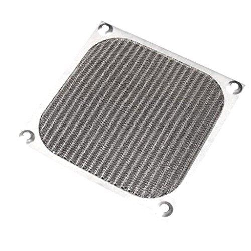perfk Protector De Polvo De Filtro De Aluminio De 12 Cm 120 Mm para Ventilador De Caja De PC
