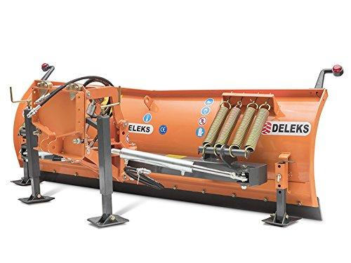 Schneeschild mit Universalplatte und hydr. Seitenverstellung fur 40-90 Ps Traktoren LN-200