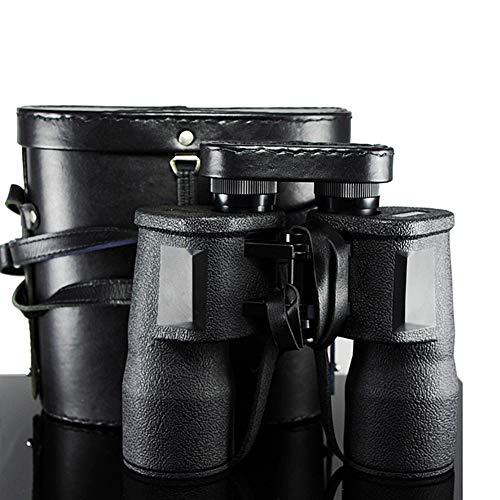 Vioaplem Segunda Guerra Mundial Militar poderosa Prismáticos telescopio binoculares 10X50 HD Ejército Binocular BAK4