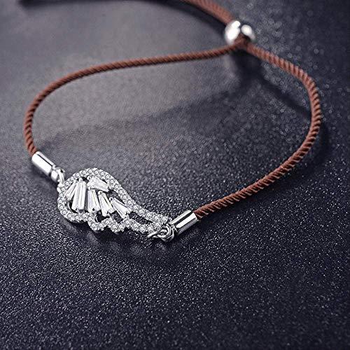 LFWQ Europese en Amerikaanse Wind Mode Engel Vleugels Verstelbare Armband Nieuwe Temperament Honderd Armband