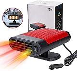 car plug in fan portable car heater Car Heater Portable Car Heater,12V 150W Fast Heating Car Windscreen Heater Fan Defogger Defroster Plug In Cigarette Lighter 2 In 1 Heating-red