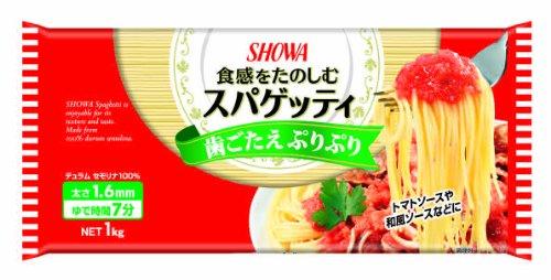 昭和産業 昭和 SHOWA スパゲッティ 1.6mm 1Kg