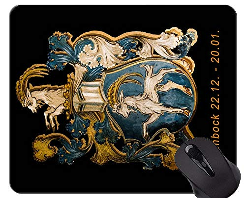 Gaming Mouse Pad, Sternzeichen Steinbock Symbol Themen von Office Mouse Pad
