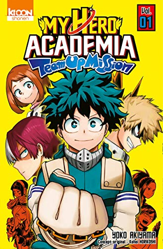 My Hero Academia Team Up Mission Edition simple Tome 1