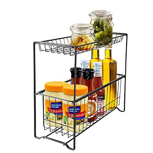 VINILITE Especiero de Cocina Organizador para Especias Organizador para Platos con Diseño Extraíble del Cajón para Cocina Baño