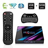 H96 Max 3318 Android 9.0 TV Box 4GB RAM 32GB ROM, 4K Smart
