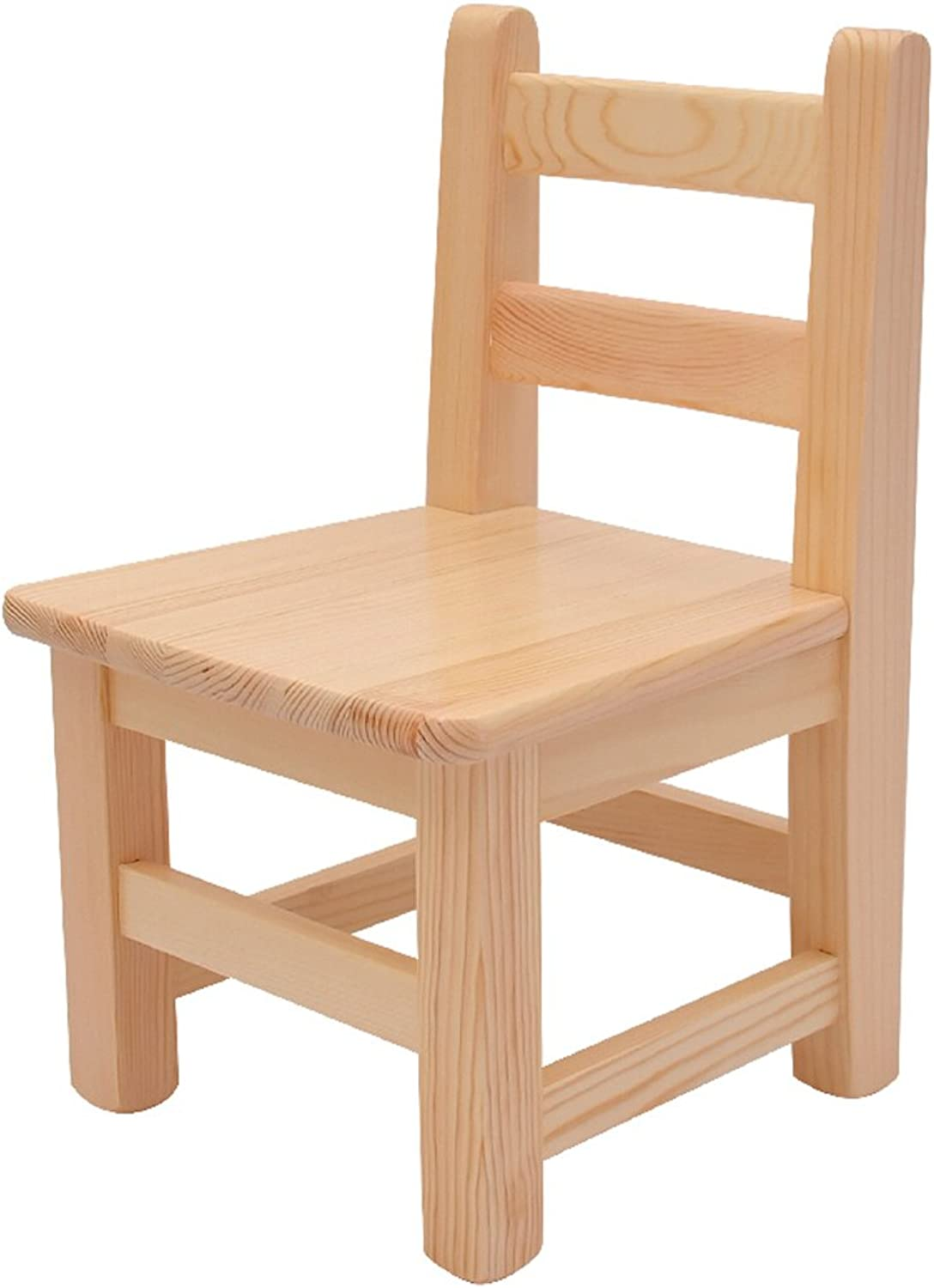 CIGONG Solid Wood Chair, Baby Chair, Dining Chair, Student Leisure Chair Wooden Bench (color   S-28x28x47CM)