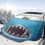 MaMartha Car Windshield Snow Cover League Shark Teemo Auto Windschutzscheibe Schneedecke Frostschutz...