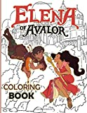 Elena Coloring Book: Color Wonder Relaxation Elena Coloring Books For Adults And Kids 8.5' X 11'