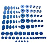 WEMINC 90 Pcs Puller Tabs Paintless Dent Repair Tabs Glue Pulling Tabs Kit for Small Dent
