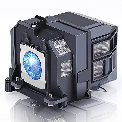 Lanwande V13H010L91 / ELPLP91 Lámpara de proyector de Repuesto con Carcasa para proyectores EPSON BrightLink 695Wi EB-695Wi...