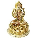 BangBangDa Hindu Goddess Laxmi Statue Sculpture – Indian God Lord Mather Lakshmi Puja Statue - India Pooja Item Murti Idol Figurine Diwali Gifts