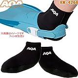AQA スノーケリングソックス2 KW-4268G M