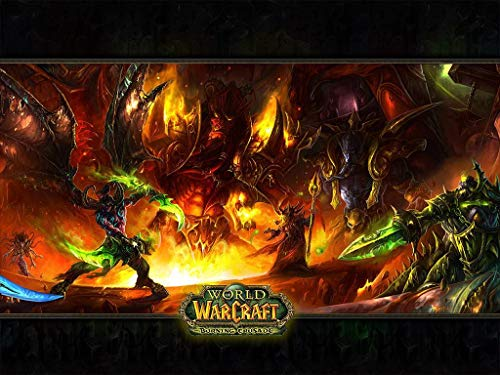 5d Diamond Painting Kits Full Drill for Adults Kids 40x50cm DIY Paint by Numbers Kits Cross Stitch Embroidery Wall Decor-World of Warcraft