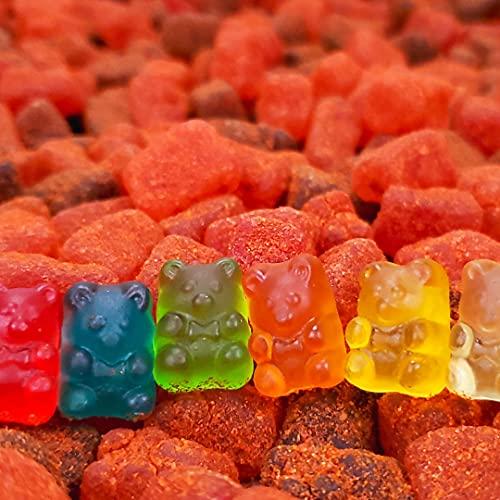 Dulces Colibri | GUMMY CHAMOY | Gummy Bears | 6 Pack