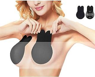 1 Paire Silicone Pasties Invisible Adh/ésif Soutien-Gorge b GCDN Poitrine Compens/é Cache Soutien-Gorge R/éutilisable Pompes Levage Bonnets T/étons pour Femmes