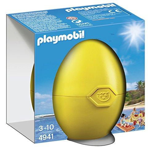 Playmobil Huevos - Familia Playa Accesorios muñecos