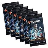 Magic the Gathering Set MTG M21 2021 - Juego de 6 sobres de expansión (en alemán)