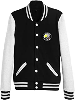 Assassination Classroom Anime Unisex Slim Fit Varsity Baseball Uniform Lightweight Jacket Sport Coat