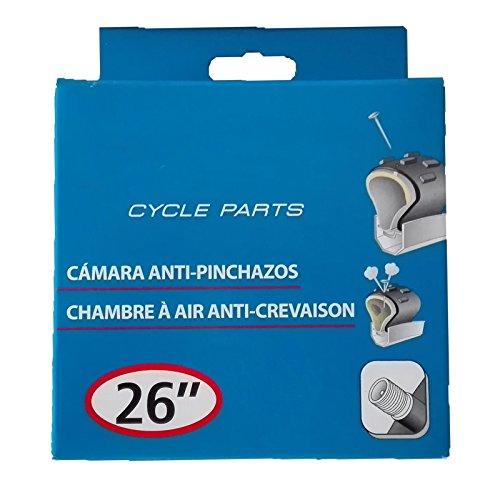 ONOGAL Camara de Aire Antipinchazos con Gel Rueda Bicicleta 26' Valvula Pressta Fina FV F/V 3012