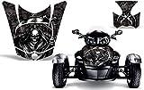AMR Racing ROAD-CAN-SPYDERHOOD-10-REAPER-BK