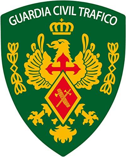 Artimagen Pegatina Escudo Pico Guardia Civil Tráfico 40x60 mm.