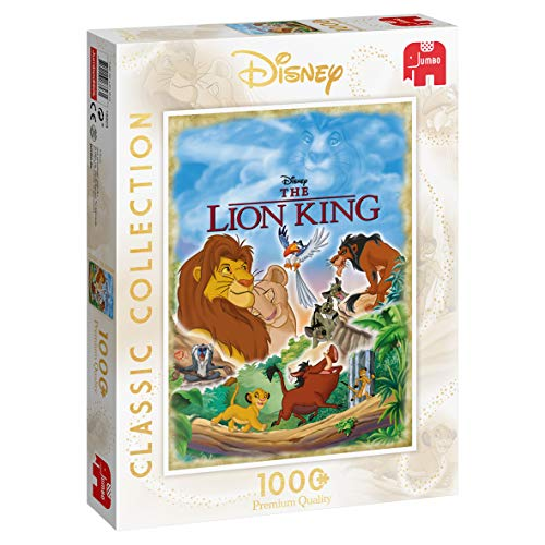 Jumbo 18823 Lion King Disney Classic Collection – Der König der Löwen, 1000 Teile, Multi