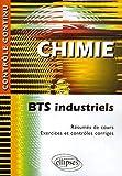 Chimie - BTS Industriels