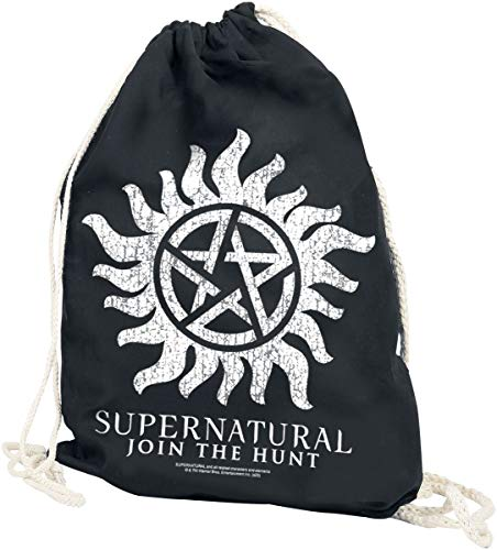 Supernatural Anti Possession Unisex Turnbeutel Multicolor 100% Baumwolle Fan-Merch, TV-Serien