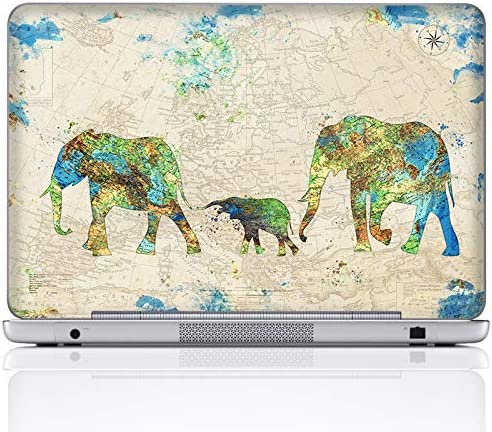 Meffort Inc 15 15 6 Inch Laptop Notebook Skin Sticker Cover Art Decal Included 2 Wrist pad Family product image