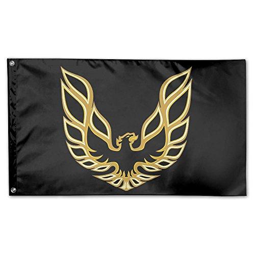 GHJOWpill Trans Am Firebird Logo Decorative Flag House Flag Yard Banner Garden&Anniversary Home Outdoor 3