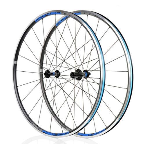 LBBL - Juego de ruedas para bicicleta, ruedas tubulares 700 C, liberación rápida, 8 9 10 11 velocidades, aluminio híbrido con clip C, 29 pulgadas, resistente a la hebilla, color B, tamaño 27.5inch