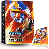 ZoneYan Álbum de Pokemon Album Pokemon, Album de Cartas Pokemon , Album de Cartas Coleccionables, Carpeta Cartas Pokemon, Album Pokemon Cartas , 30 Páginas, hasta 240 Tarjetas (Rey del Viento)