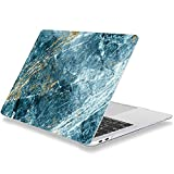 Laptop Case for MacBook 12 Inch 2017 2016 2015 Release A1534 Plastic Hard Shell Cover Compatible with MacBook 12' Retina Display Dark Blue Marble