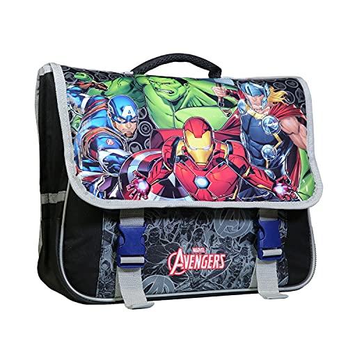 BAGTROTTER Cartable 38 cm Marvel Avengers Noir et Gris