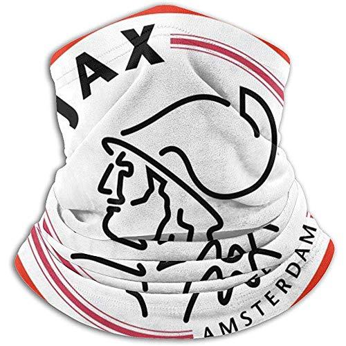 N/A AJAX Amsterdam1 Bufanda Calentador de Cuello Soft Microfiber Headwear Face Scarf Mask para Clima frío Invierno Deportes al Aire Libre