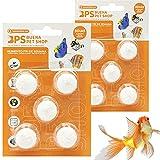 BPS 10 Piezas Alimento de Peces para Fin de Semana para 3 Días para Todos Tipos de Peces de Acuario Bloque de Comida BPS-4126*2