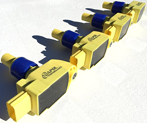 Pack of 4 IGNITION COILS MAZDA RX8 RX-8 04-11 COIL PACKS N3H118-100B-9U UF501 -Performance Igniter Pack Coils C1459 N3H1181009U