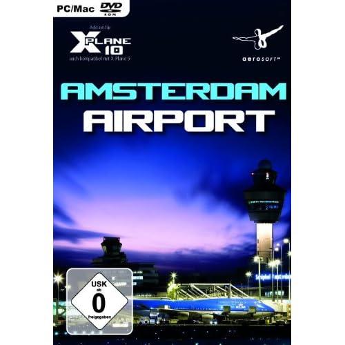X-Plane 10 - Airport Amsterdam Schiphol Add-On [Edizione: Germania]