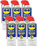 WD-40 - 300012 Specialist Silicone Lubricant with SMART STRAW SPRAYS 2...
