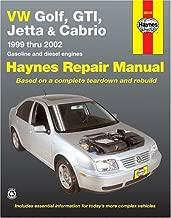 VW Golf, GTI, Jetta and Cabrio, 1999 Thru 2002, Gasoline and diesel engines  (Haynes Repair Manuals)