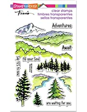 Stampendous Adventure Awaits Clear Stamp Set