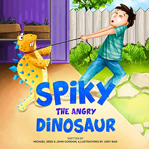 Spiky the Angry Dinosaur cover art