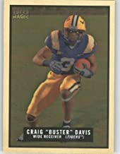 Craig Buster Davis - LSU - San Diego Chargers - 2009 Topps Magic NFL Trading Card