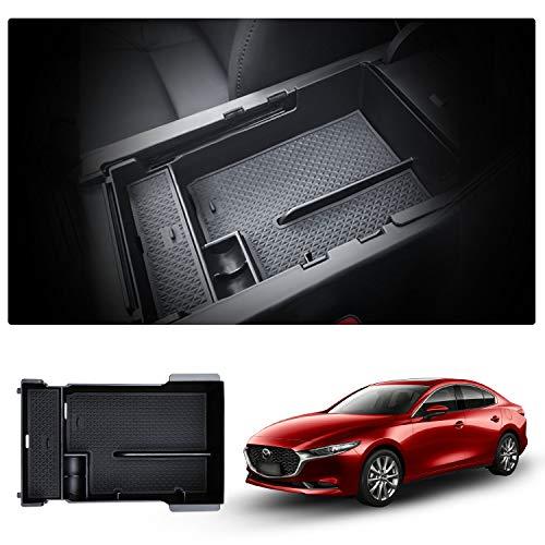 Mittelkonsole Aufbewahrungsbox für Mazda3, Mittelarmlehne Armlehne Organizer, Storage Box Innen