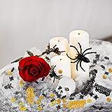 Kesote Konfetti Halloween Streudeko Party Glitter Tisch Deko Geist Spinne Kürbis Schädel Fledermaus (100g, ca. 5000 pcs) - 7